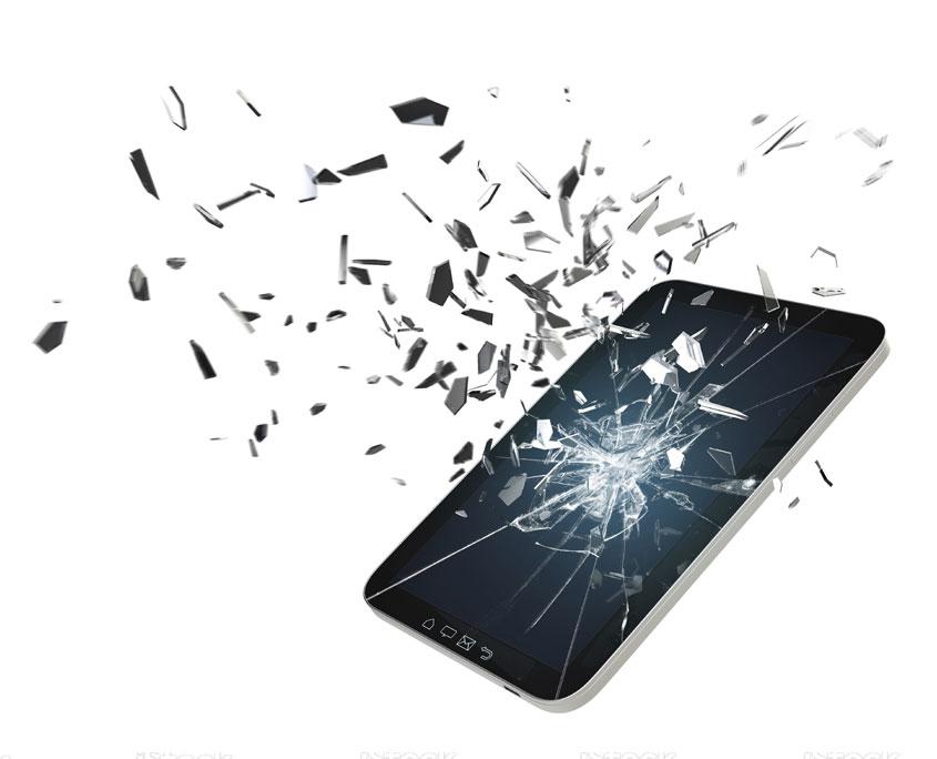 smartphone, tablet, display, reparatur, neues display, schaden, service