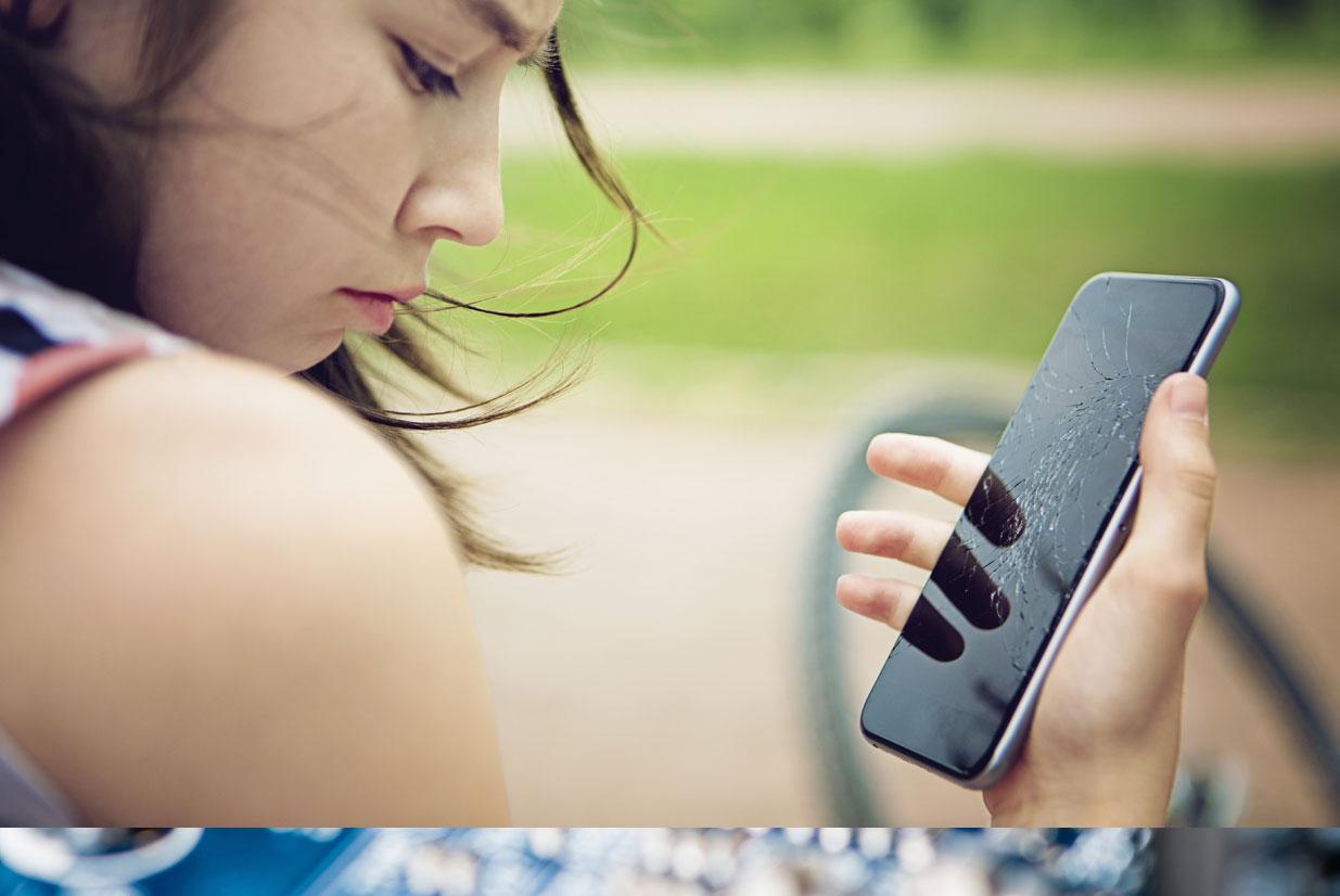 smartphone, tablett, service, kaputt, scheibe, risse, büchner, herbolzheim